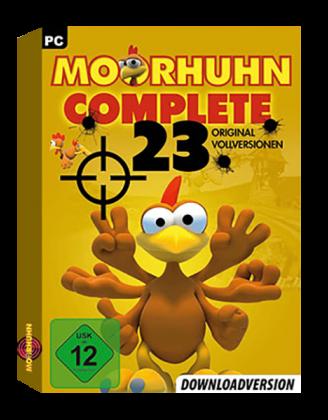 Moorhuhn Complete – 23 original Vollversionen
