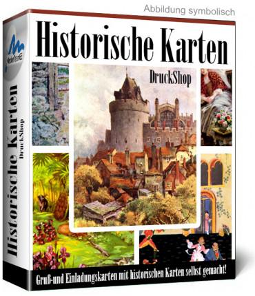 Historische Gruß-und Einladungskarten
