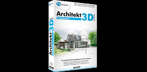 Architekt 3D v20 Professional inkl. Gartenplaner & E-Books