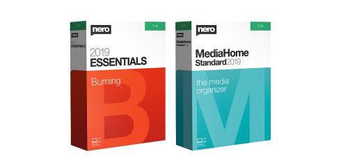 Nero 2019 Burn Essentials & Media Home Standard