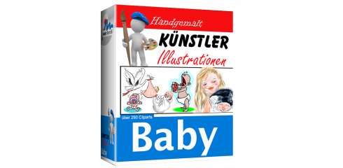 Künstler-Illustrationen - Baby