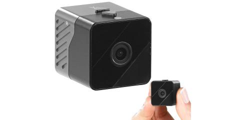 Mobile Mini-HD-Überwachungskamera mit Bewegungssensor