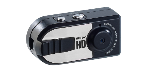HD-Mini-Kamera mit Öse zum Aufhängen